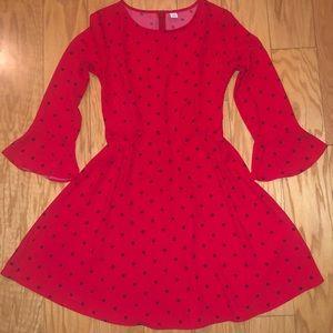 Old Navy red polka dot dress